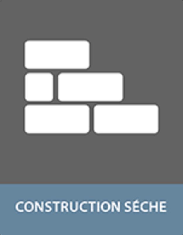 Construction sèche avec COSMO colles adhésifs