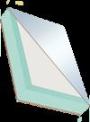 Panneaux sandwich COSMO Tech - DSP, deux faces particules fines