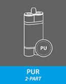 PUR adhesives (2-part)