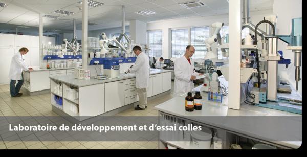 Laboratoire de développement et d'essai colles