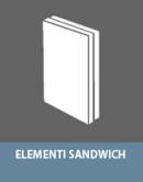 Colle per la produzione di elementi sandwich