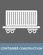 Kleben im Containerbau