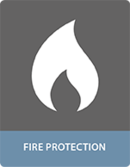 Bonding with adhesives fire protection applications
