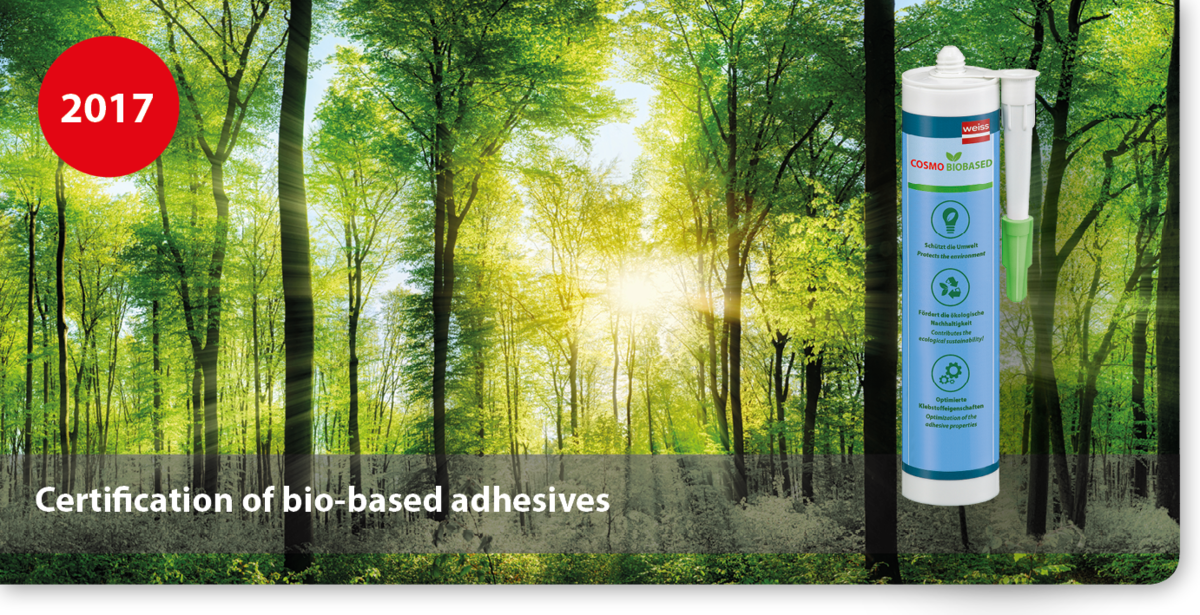 Certification of bio-based adhesives