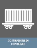 Incollaggio con colle nella costruzione di container