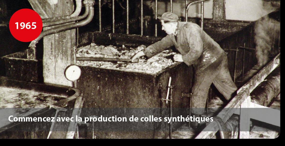 Commencez avec la production de colles synthétiques