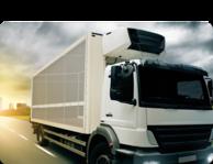Kleben mit Klebstoff bei der Herstellung von Kühltransportern