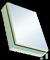 Sandwichelement Cosmo Therm beideitig PVC - beidseitig PVC, XPS/TK-Kern, Schwerfolien-Einlage