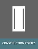 Panneaux sandwich pour fabrication des portes