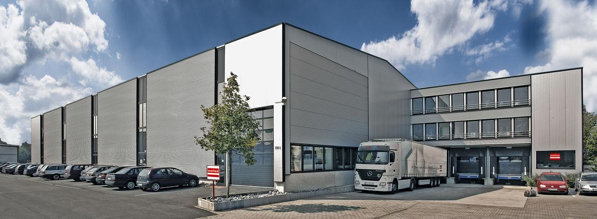 Bâtiment de l'entreprise Weiss Herzebrock