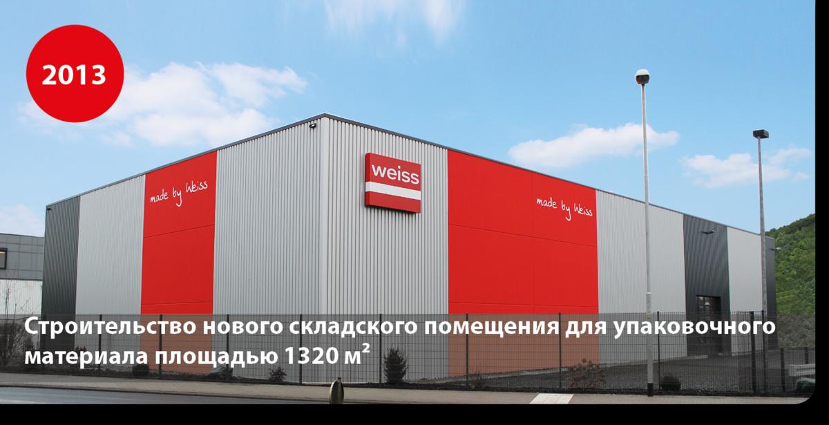 Строительство нового складского помещения для упаковочного материала площадью 1320 м²