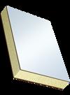 Сэндвичные элементы Покрытие из СПВД с двух сторон, наполнитель из жесткого пенополиуретана