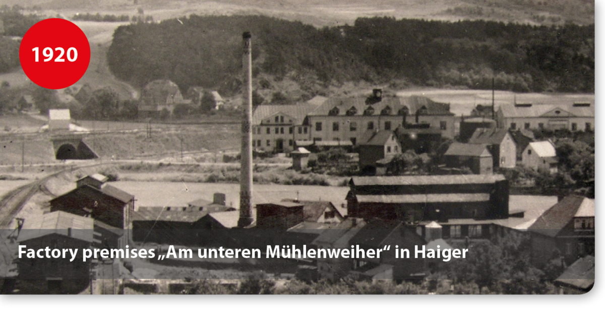 "Factory premises for adhesives ""Am unteren Mühlenweiher"" in Haiger"