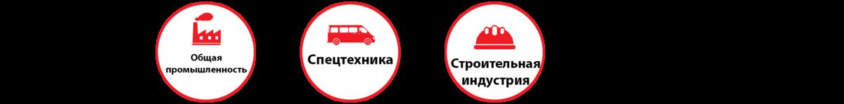 Области применения HD-100.480