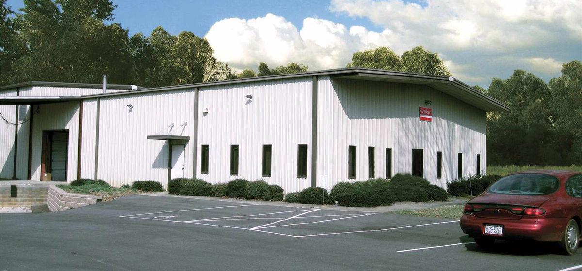 Firmengebäude Weiss USA