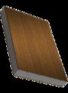Sandwichelement COSMO Therm - einseitig dekorfolierte HPL-Deckschicht, PUR-Kern, Rückseite PVC-Deckschicht