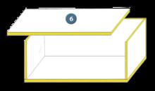 Flächenklebstoff für Deckenelemente