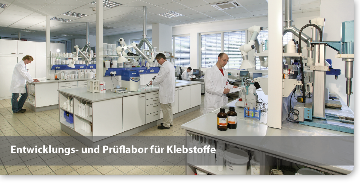 Entwicklungs- und Prüflabor für Klebstoffe