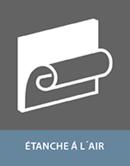 Colle pour adhesif en etanche air