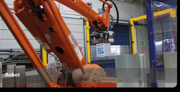 Robot pour production colles adhesifs