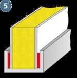 Klebstoff zur Verklebung von Abschlußprofilen