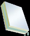 Sandwichelement Cosmo Therm beidseitig PVC - beidseitig PVC, XPS/TK-Kern
