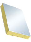 Sandwichelement COSMO Classic - beidseitig PVC-Deckschicht, XPS-Kern, WLG 035
