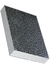 Sandwichelement COSMO Classic - beidseitig ALU/Stucco-Deckschicht, EPS-Kern