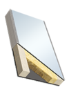 Elementi sandwich COSMO Silent (dB 46/50) - ALU