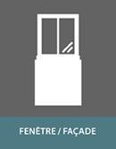 Panneaux sandwich pour fenêtre / façade