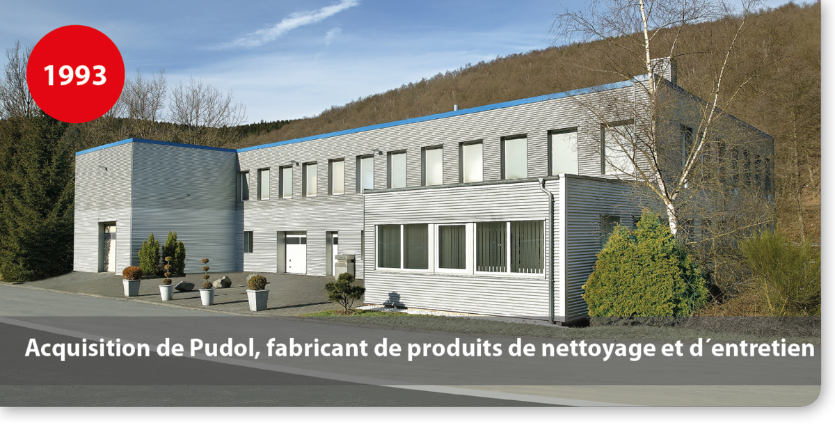 Acquisition de Pudol, fabricant de produits de nettoyage et d´entretien