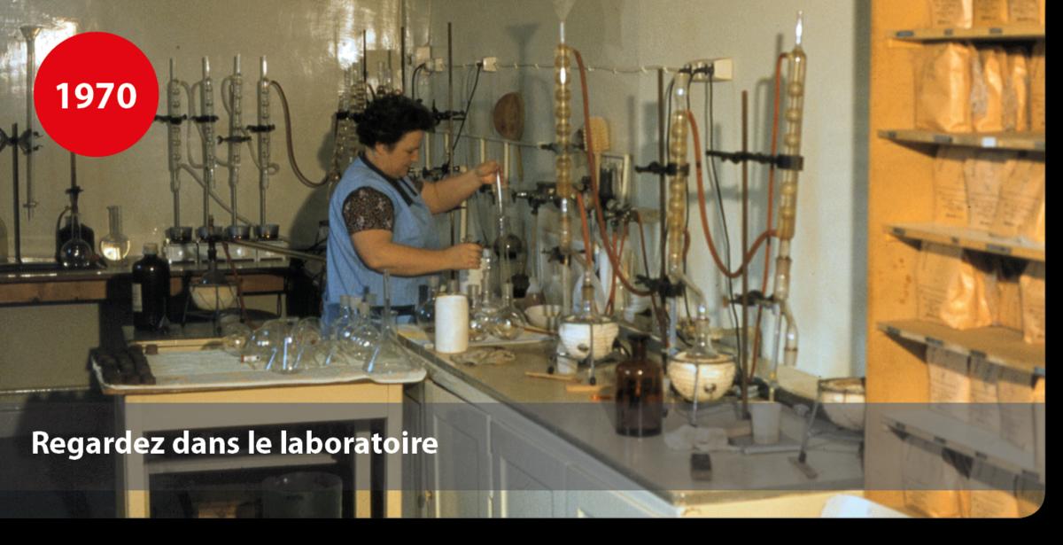 Regardez dans le laboratoire pour departement colles