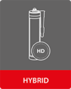 Hybrid adhesives