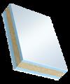 Sandwichelement Cosmo Frame beidseitig PVC - beidseitig PVC, XPS/PR-Kern