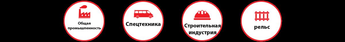Области применения HD-100.800