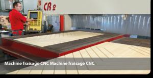 Machine fraisage CNC panneaux sandwich