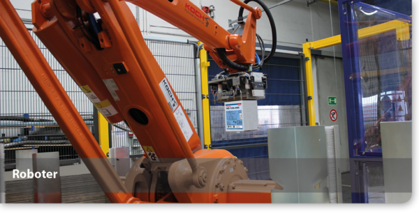 Roboter for adhesive production