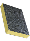 Sandwichelement COSMO Classic - beidseitig ALU/Stucco-Deckschicht, XPS-Kern