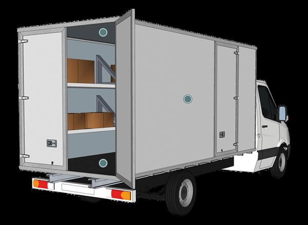 Sandwichelemente für Fahrzeuge / Anhänger