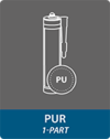 1-part PUR adhesives
