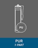 PUR adhesives (1-part)