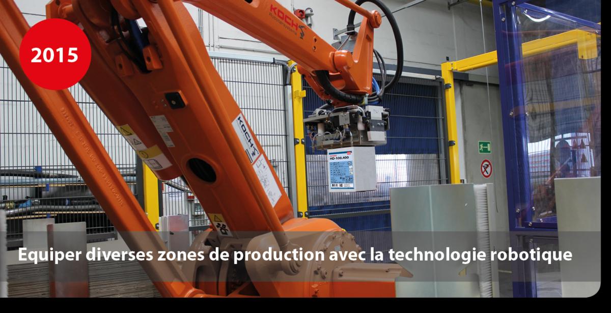 Equiper diverses zones de production avec la technologie robotique production de colles