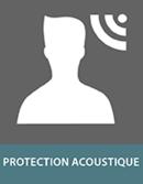 Panneaux sandwich de protection acoustique