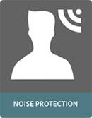 Composite panels noise protection