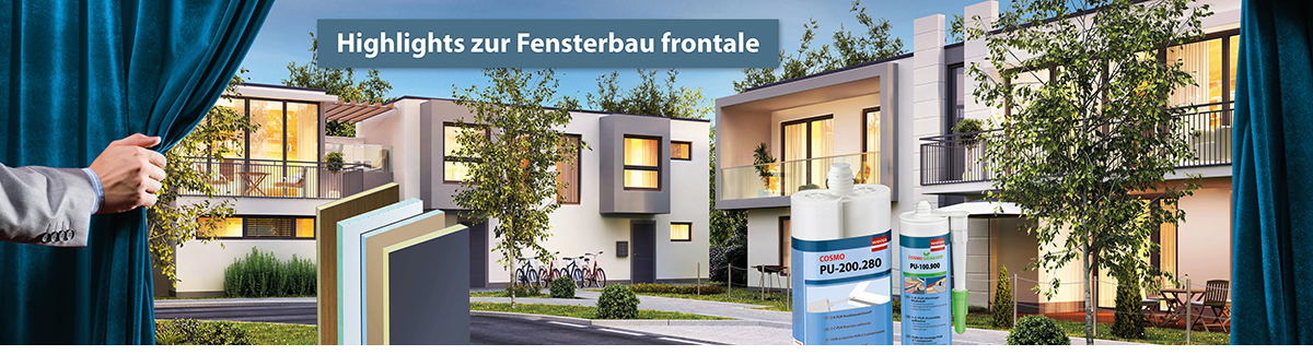 Highlights zur Fensterbau Frontale