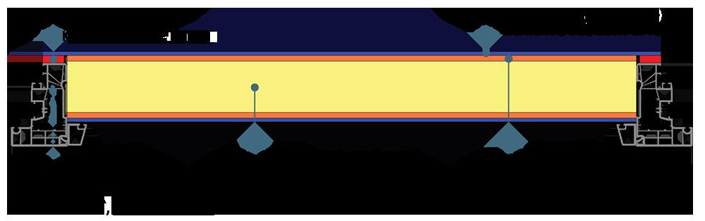 Herstellung einer Aufsatzfüllung mit Hilfe eines Konstruktionsklebstoffs