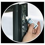 Reinigung & Pflege von Fenstern & Türen