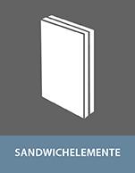 Kleben von Sandwichelementen