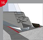 Verklebung der Fugenbänder an Fenster- und Türlaibungen innen für die RAL Montage