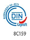 DIN-Zertifikat biobasierter Klebstoff